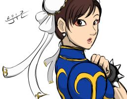 Lets Play - StreetFighter4 - Chun-Li WIP Version by EnterMEUN