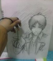 Here's your key, Eren! by 13Kitty95