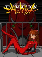 Asuka and Eva 02 by Gundamjack