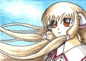 Chii from Chobits by LaSpliten
