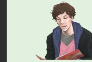 Benedict Cumberbatch by auzzeh