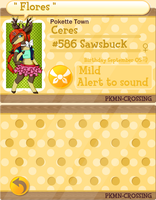 PKMN Crossing - Ceres App by Setsuna-Yena