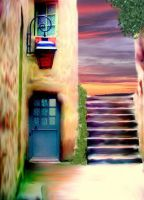Colorful door 1 by Hermione75