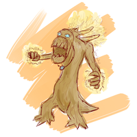 Dancing Treant by SerenitySaz
