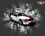 + mustang gt500. by tomson