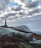 Carn Brea Monument by Pjharps