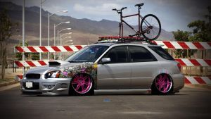 Impreza Wagon HellaFlush by alemaoVT