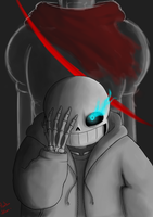Sans - YOU DIRTY BROTHER KILLER by MomoAkemi