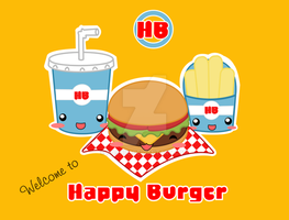 Happy Burger by Nashiil