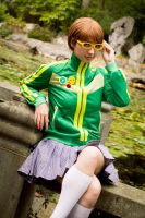 A day out (Chie Satonaka) by SkittlesnCookie