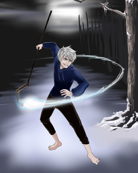 Jack Frost [Request] WIP by Erin-Tudball