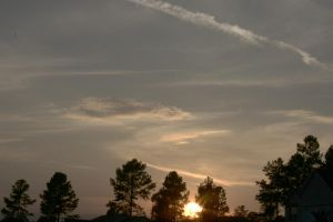 HDR Sunset by trackrunner49011