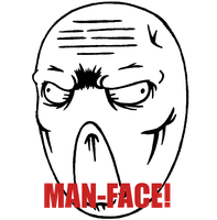 Man-Face by Man-faceplz