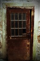 Rusted Prison Door by PAlisauskas