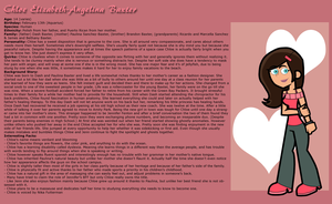 Chloe Baxter's Profile by Linariel