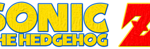 Sonic The Hedgehog Z Logo by KingAsylus91