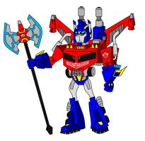 Optimus Magnus by AleximusPrime