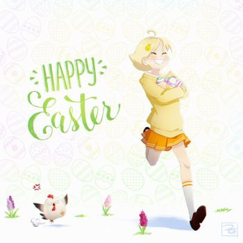 Happy Easter! by Filika