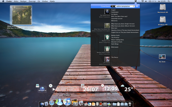 Mac OS X Desktop July by thaulow