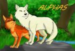 Valknut Wolf Guardians Hierarchy: Alphas by PandaFilms