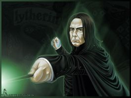 Severus Snape by Leen-galeas