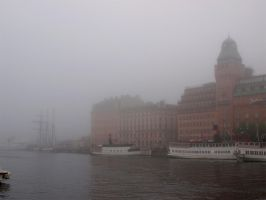 Stockholm Misty Morning 06 by Luddox