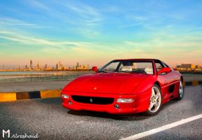 Ferrari Dreams III by Mishari-Alreshaid
