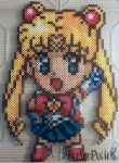Sailor Moon by PerlerPixie