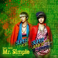 Mr. Simple Album Cover Art (Leeteuk and Yesung) by Cristal1994