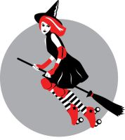 Roller Girl Witch 3 by remdesigns