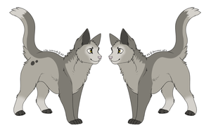 Cat adopt 2 - 15 points [TAKEN] by Redbell9