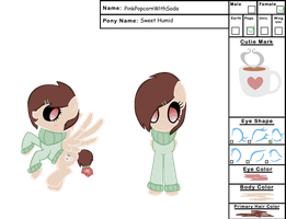 Sweet Humid Reference Sheet by PinkPopcornWithSoda