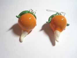 Luna's Radish Earrings by LittleLoveInc