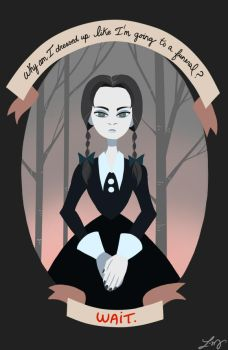 Wednesday Addams by ishimaru-miharu