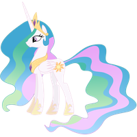 Princess Celestia Cursor -Normal Select- by kirigakurenohaku