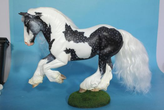Gypsy Gold resin to silver dapple tobiano by arcadian7
