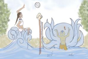Kataang: Water Polo IN COLOR by maridawood