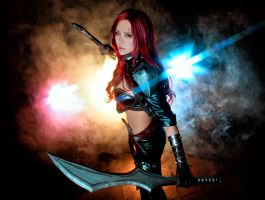 League of Legends - Katarina by AmaranthPhotos