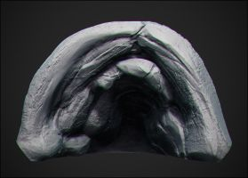 Riddick Cave background by kassarts
