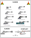 Klingon Empire Warships by tacrn1