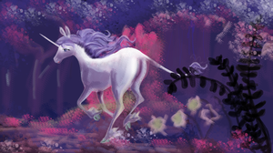 the last unicorn 30th anniversary by Bloo-DKai12