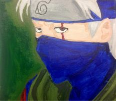 Kakashi Hatake by PigletPrincess