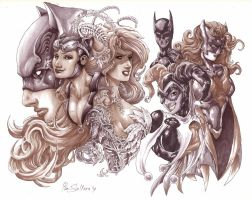 Gotham Girls by Iantoy