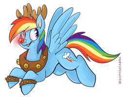 REINbow Dash by sophiecabra