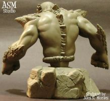 Doomsday Mini Bust Pic2 by ASM-studio