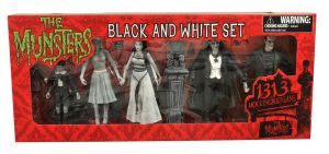 Munsters black and white set front by BLACKPLAGUE1348