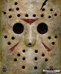 Jason Mask by PsychoSlaughterman