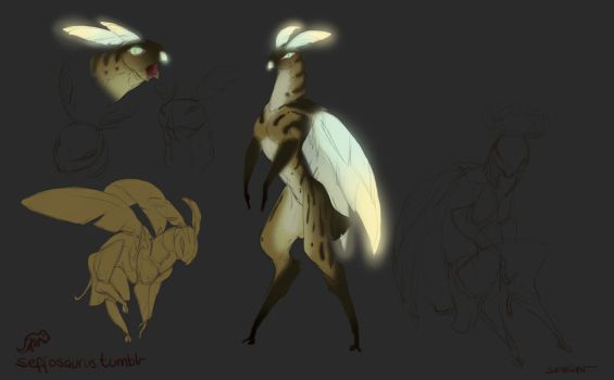 Monster Sketches by Sefeiren