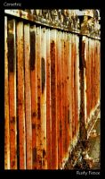Rusty Fence by Cemetric