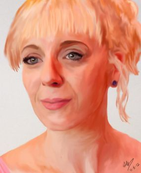 Amanda Abbington by Heiddles